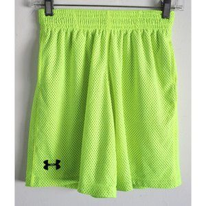 Under Armour Flourescent Yellow Shorts